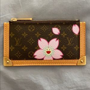Louis Vuitton Cherry Blossom Key Pouch